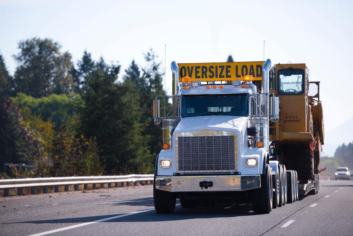 Oversized Load Truck
